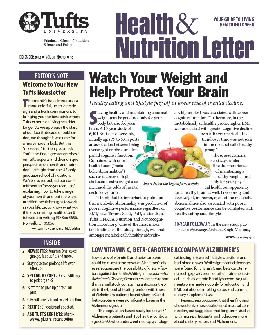 Tufts Health & Nutrition Letter